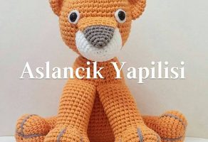 Amigurumi Bebek Tarifleri : Amigurumi aslancık yapılışı elişi deryası elişi deryası