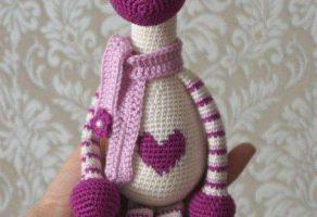 Amigurumi Zürafa Yapımı : Amigurumi zürafa yapımı anlatımlı amigurumi Örgü oyuncak