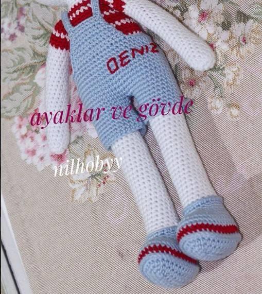 Amigurumi Mini Hanım Kız Bebek Yapımı - Örgü Modelleri | 571x509